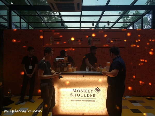 Monkey Shoulder Section during William Grant & Sons Trade Party