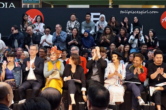 Panel of judges for AirAsia Runway Ready Designer Search Grand Finale 2018