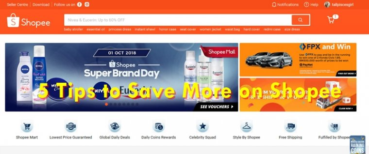 5 Tips to Save More on Shopee