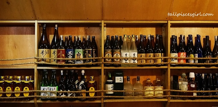 Wide selection of alcohol for you to choose