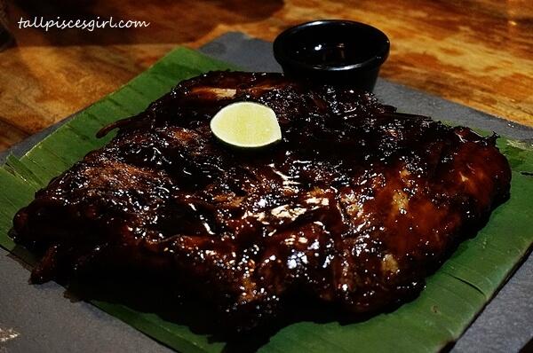 Naughty Nuri's Signature Pork Ribs - RM 49 for 800g of porky juiciness