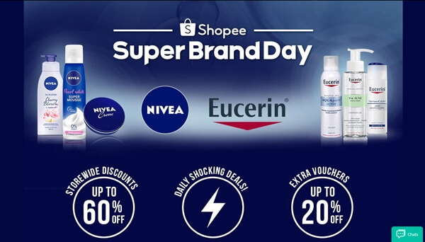 Save more on Shopee Super Brand Day