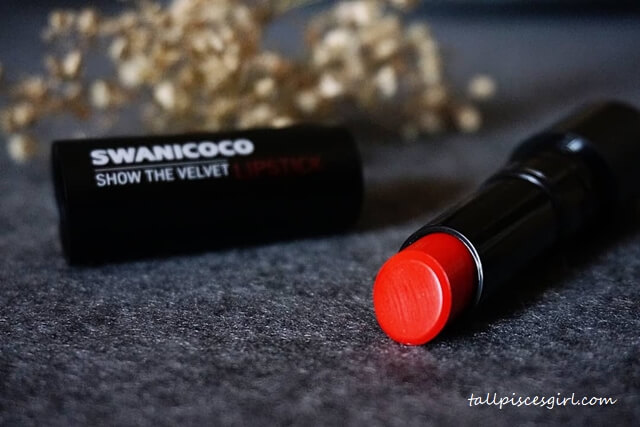 Swanicoco Show The Velvet Lipstick (Juliet Red)
