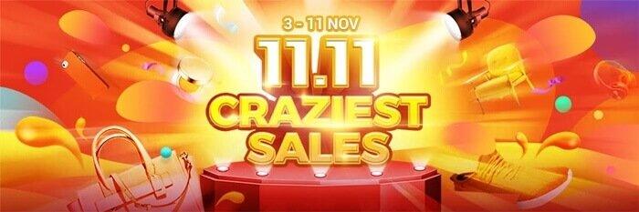 ezbuy 11.11 craziest sales