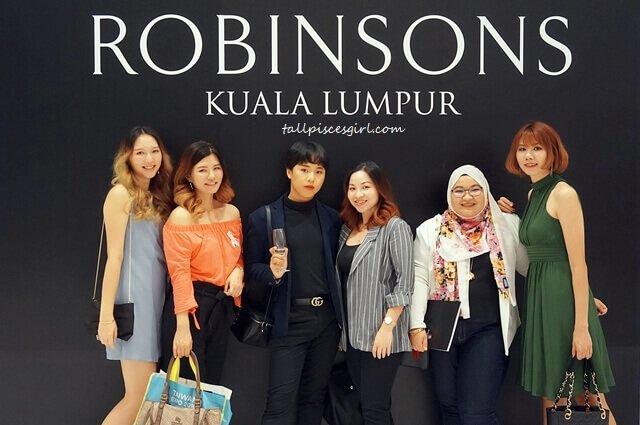 Bloggers gang @ Robinsons Kuala Lumpur, Shoppes at Four Seasons Place Grand Launch