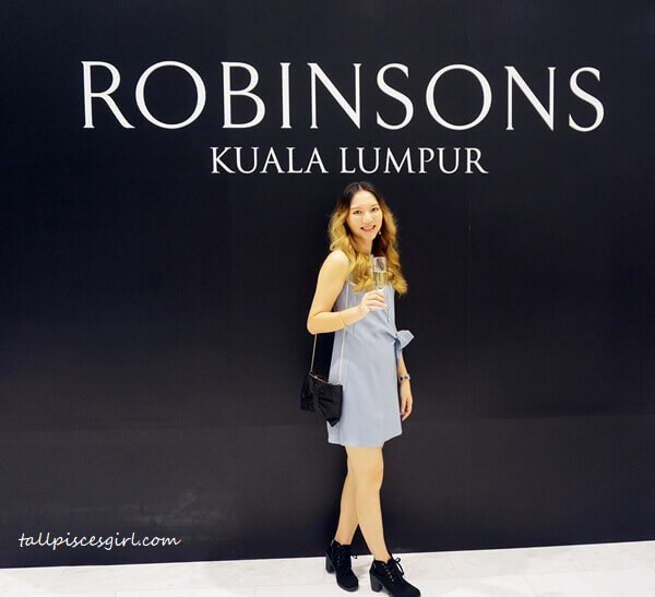 Thank you for having me, Robinsons Malaysia!