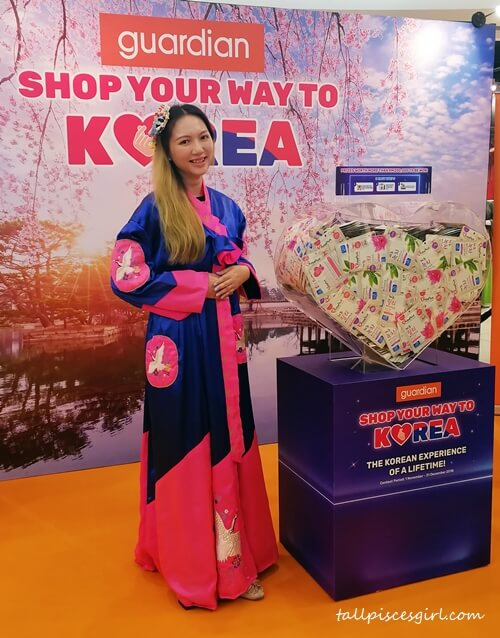 Count the masks and Shop Your Way to Korea