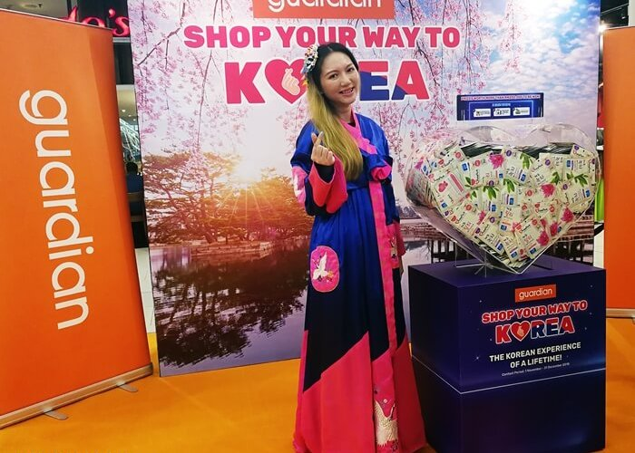 tallpiscesgirl X Shop Your Way to Korea by Guardian Malaysia