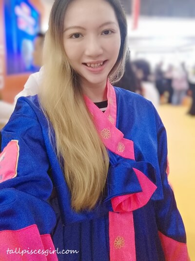 For now, I'll wear a Hanbok and imagine I'm in Korea! Annyeong!