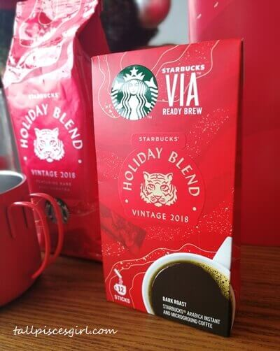 Starbucks VIA Holiday Blend