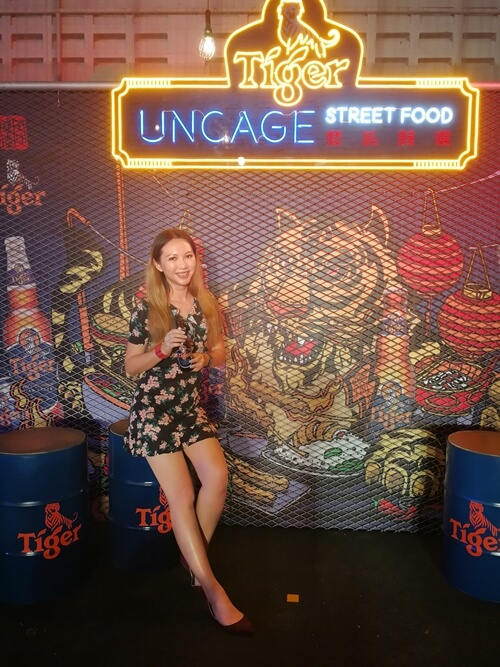 Let's start feasting at Tiger Uncage Street Food Festival