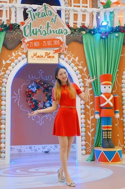 Main Place Mall USJ Christmas theme: Gingerbread Village