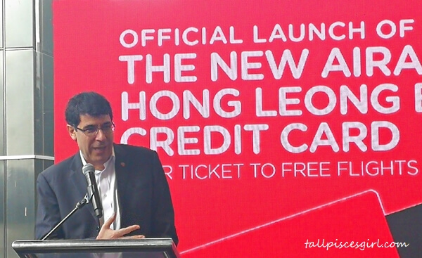 Hong Leong Bank Group Managing Director and Chief Executive Officer Domenic Fuda is confident that the AirAsia Hong Leong Bank Credit Card will be the ultimate travel credit card in Malaysia as it hits two of the most relevant Malaysian consumer behaviors when it comes to travel: frequency and cost consciousness