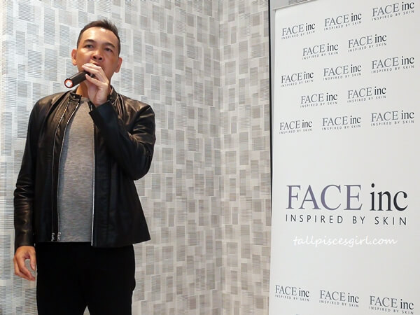 Wilson Goh, Managing Partner of The Face Inc