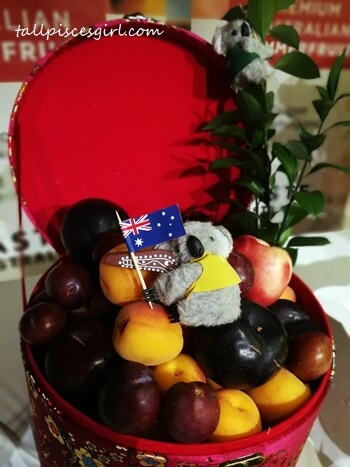 Australian Summer Fruits Gift Basket for Chinese New Year