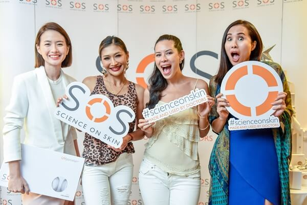 Melissa Tan, Nana Al Haleq, Hannah Lo and Iman Corrine at SOS UV Porcelain+ Launch