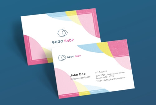 Business Card for Facebook Marketing Business