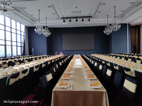 Grand Sky Ballroom perfect for events and banquets