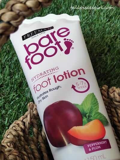 Freeman Bare Foot Hydrating Foot Lotion