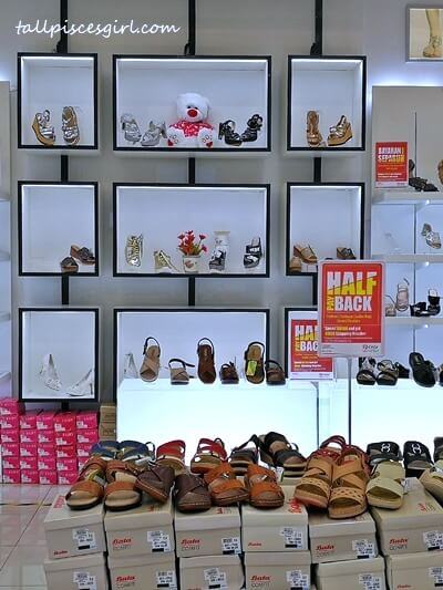 Half Payback Promotion at Shoes Department