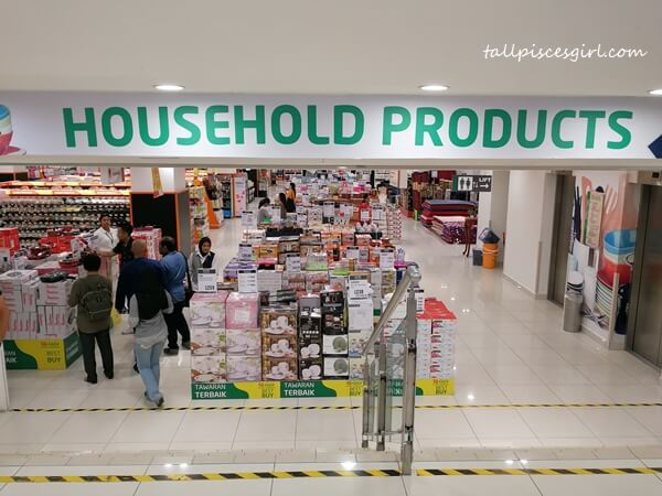 Household Product Department