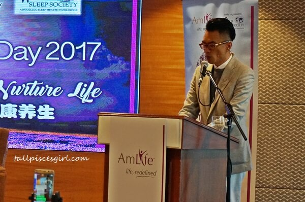 Mr. Lew Mun Yee, Founder and President of AmLife