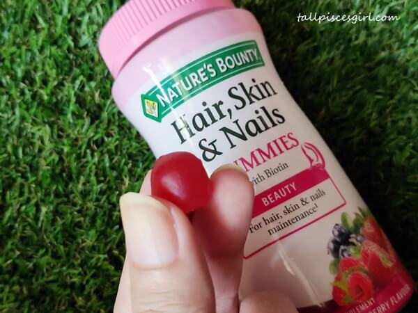 Nature's Bounty Hair, Skin & Nails Gummies with Biotin