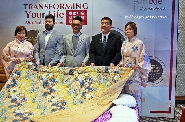 The launch of AmLife AmPower Platinum Blanket