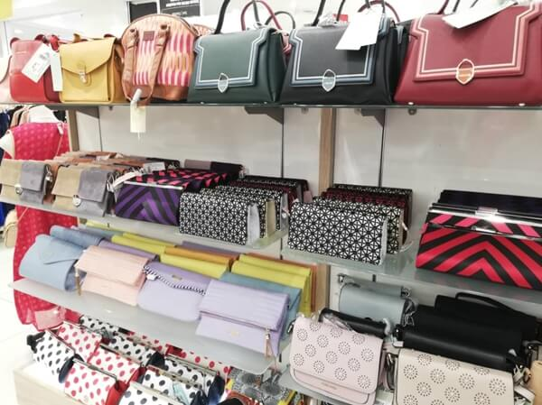 Nice bags and purse exclusively at LuLu Hypermarket KL