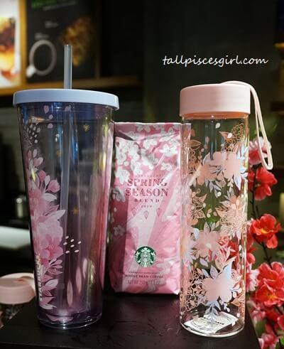 Starbucks Malaysia Sakura Collection and Beverages 2