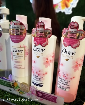 Dove Sakura Limited Edition Products