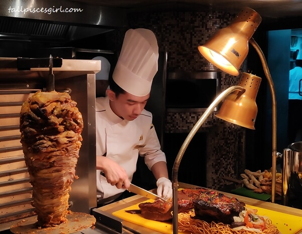 Kebab and Roasted Meat Section