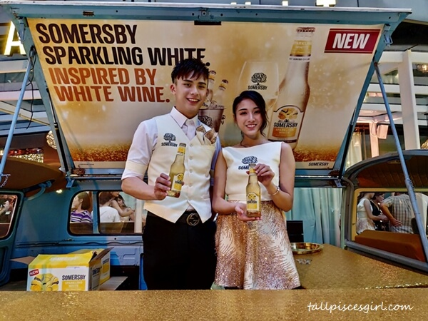 Malaysian cider lovers are the privileged ones to first savor Somersby Sparkling White outside Europe