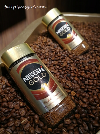 New look of NESCAFE GOLD