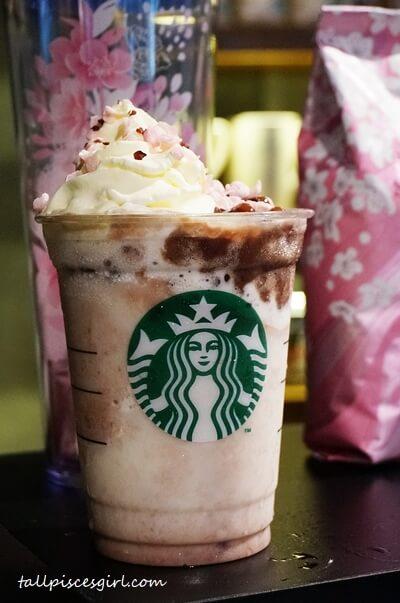 Starbucks Azuki Blossom Creme Frappuccino