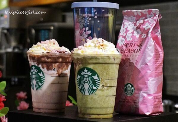 Starbucks Malaysia Sakura Offerings