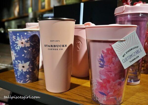 Starbucks Malaysia Sakura Tumblers and Cups