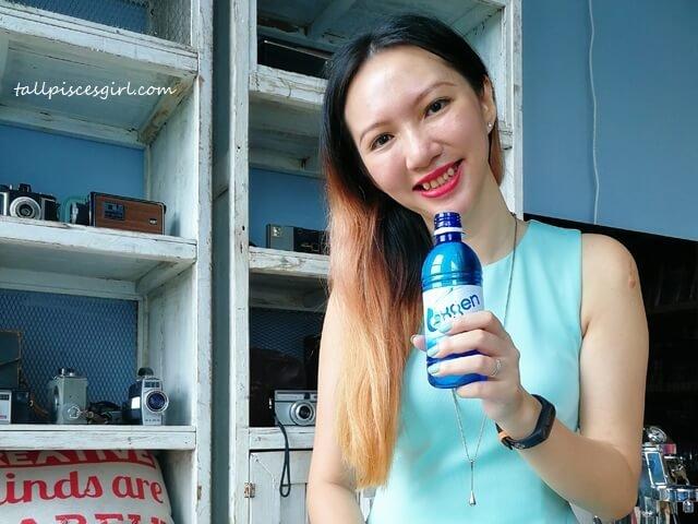 tallpiscesgirl X OXGEN Water