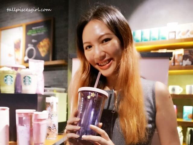 tallpiscesgirl X Starbucks Malaysia Sakura Tumbler
