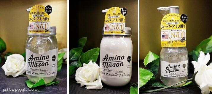 Amino Mason Moist Hair Care Series
