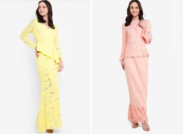 Baju Kurung by Lubna from Zalora