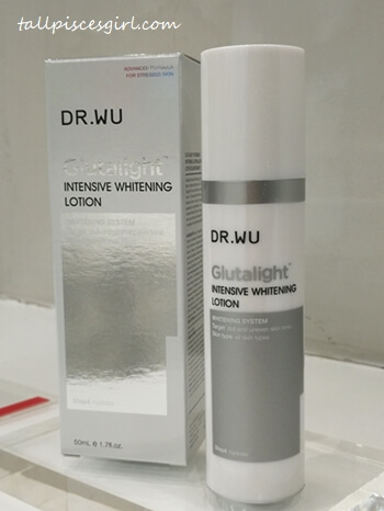 Dr. Wu Glutalight Intensive Whitening Lotion