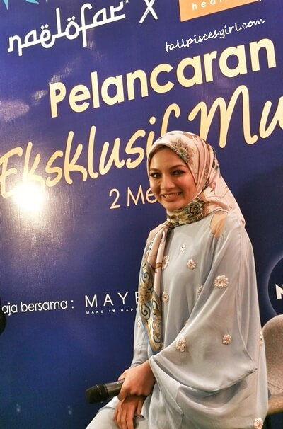 Neelofa, founder of Naelofar