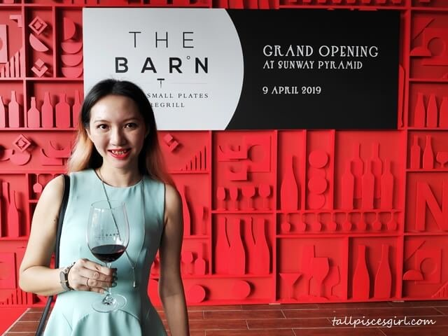 tallpiscesgirl at Grand Launch of The Barn Sunway Pyramid