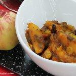 Ambrosia Apple Chutney by Chef Wan