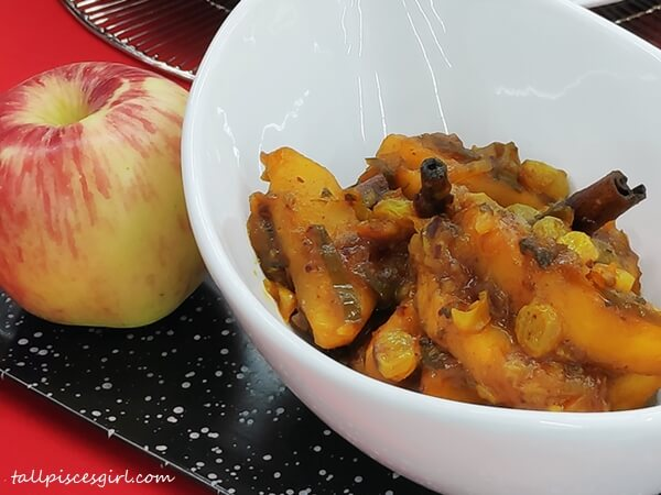 Ambrosia Apple Chutney by Chef Wan