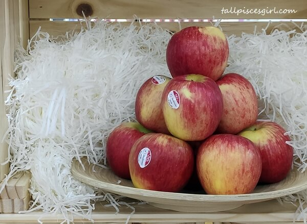 Crunchy and sweet Ambrosia Apples
