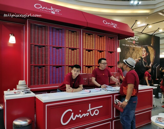 Arrissto booth @ Malaysia Coffee Fest