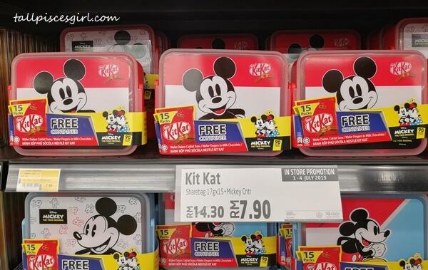 Mickey Mouse KitKat