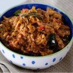 Sardine Peratal (Dry Sardine Curry) by Chef Sara Khong